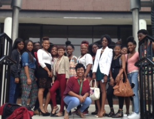 Henrico High School students attend Fashion Career Day at VCU